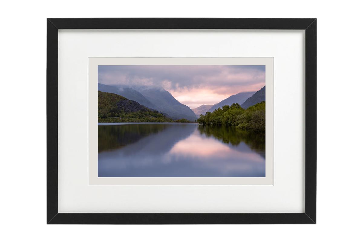 Morning's Last Light framed by Robert Bishop